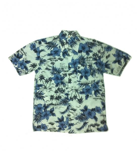 Havajská košile Navy světlá - Ptákoviny.com 59113a4023