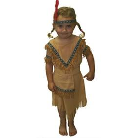 011cff5c56b5 Roztomilý dětský kostým Indiánka je vhodný na tábory
