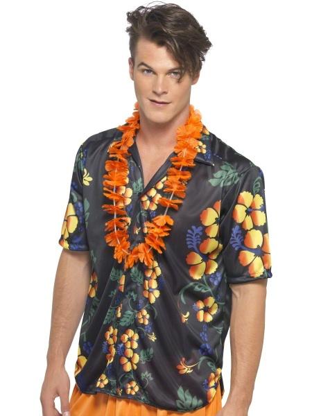 Havajská košile - tmavá - Ptákoviny.com 5b85534e52