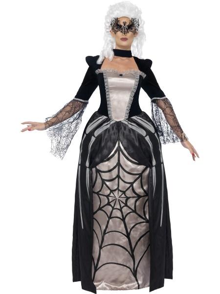 Tento krásný kostým mrtvé vdovy barona se bude vyjímat na každé halloweenské  párty. 793f2cd7730