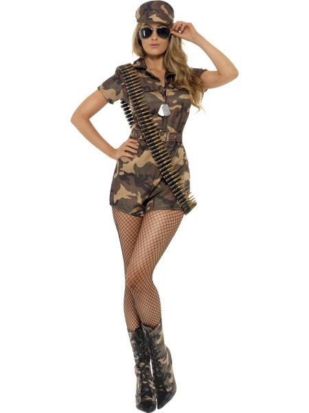 Costume Army girl